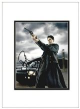 John Barrowman Autograph Signed Photo - Captain Jack Harkness